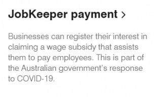 JobKeeper Payments