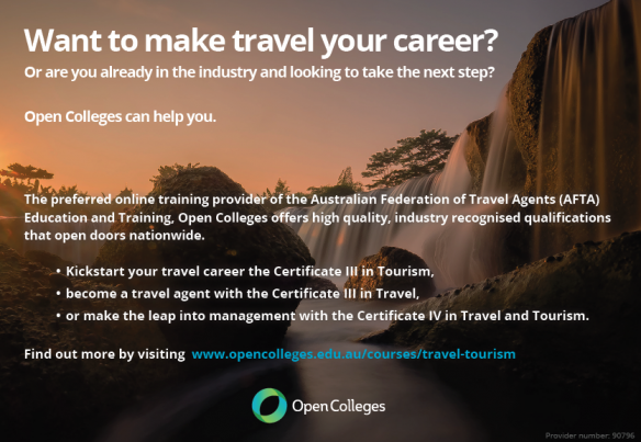Want to make your travel your career?