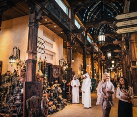 SHOPPING AT THE SOUKS