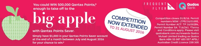 Win 500000 Qantas points here