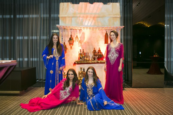 Arabian Hosts at The Assemby for the Dubai Tourism  Roadshow  in Melbourne