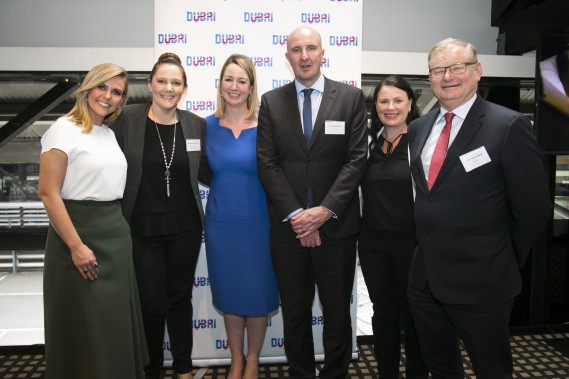 Edwina, Sheree Pekovich, Dubai Tourism, Julie King, Tim Sheppard, EK, Jodie Collins, Dubai Tourism and Tim Harrowell, EK