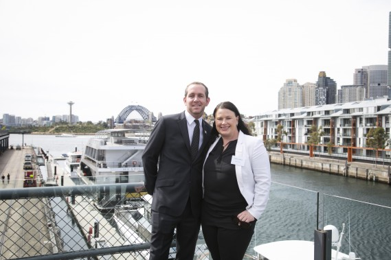 Jodie Collins, Dubai Tourism and Russell Dillon, The Address Hotels & Resorts