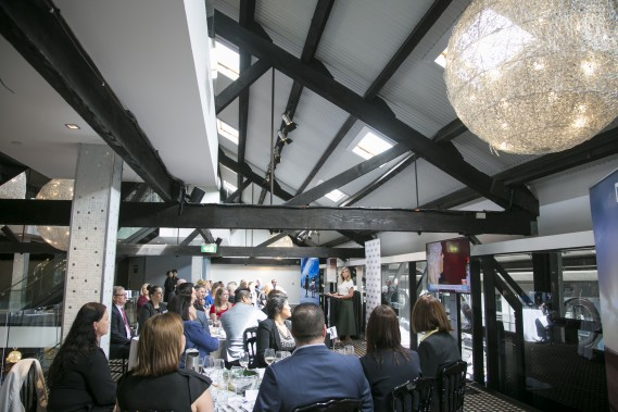 Suppliers and Partners at the Sydney Lunch