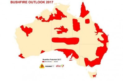CRC Bushfire high risk areas