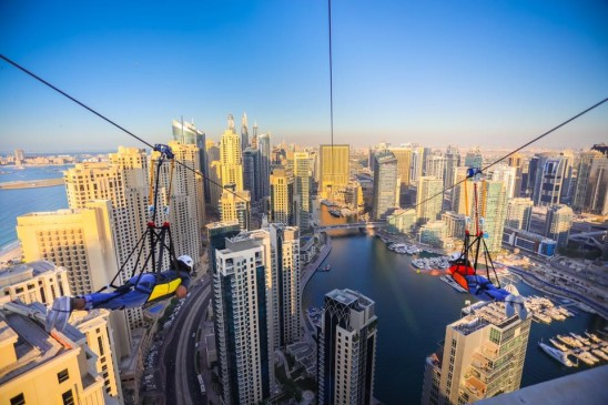 XDubai will take you zip-lining over the city