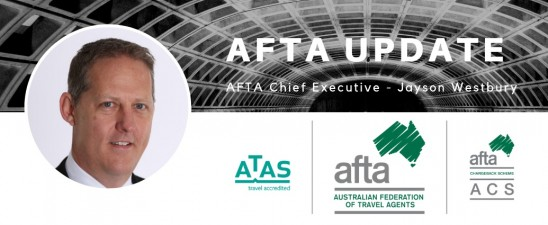 AFTA CEO Update - Westbury joins TTA Board of Directors