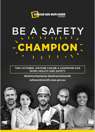Be a Safety Champion in your workplace