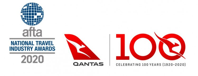 Major Sponsor Qantas Logo