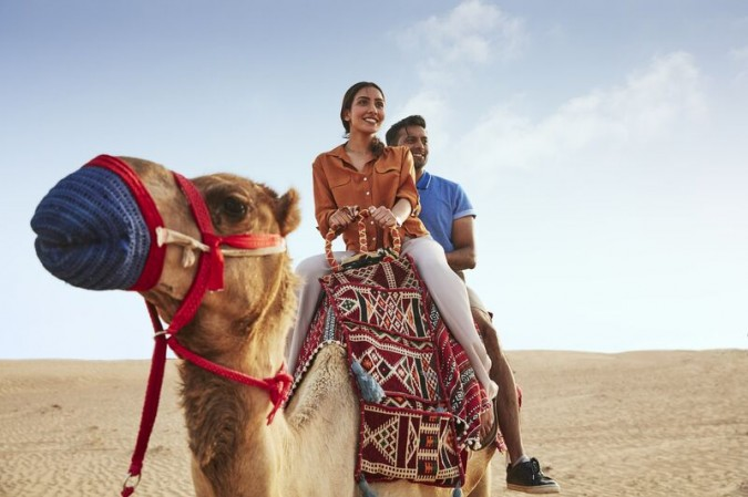 Mushrif Park: ride camels or swing from trees at Aventure adventure park